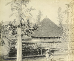South view of Vishnu Temple, Parumanna, Malabar District, Calicut Taluk